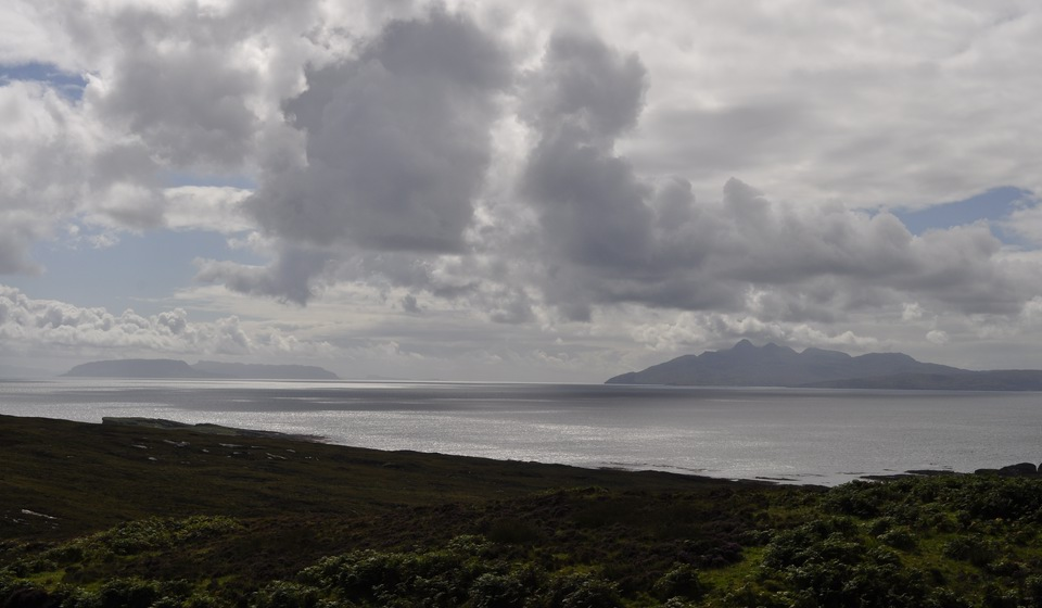 Rhum and Eigg from near Elgol