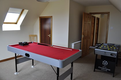 Pier House Self Catering Holiday Cottage Accomodation Elgol - the games room