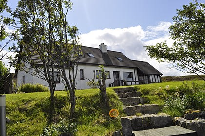 Pier House Self Catering in Elgol - from the garden