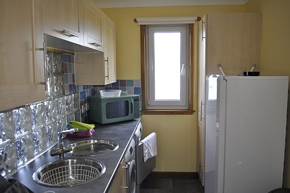 Pier House Self Catering Holiday Cottage Accomodation Elgol - the utility room