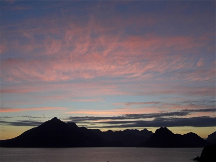 Sunset from Elgol